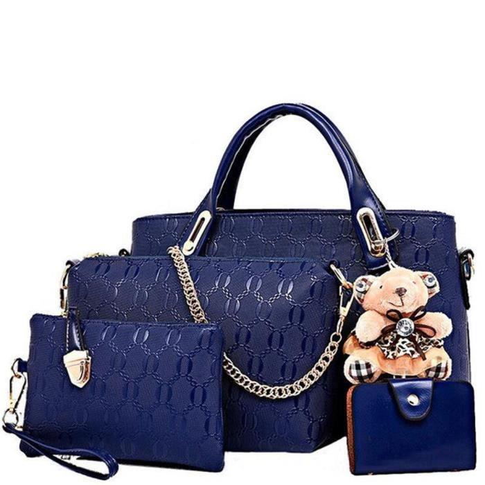 641adbb419 Sac main cuir sac luxe femme cuir Sac De Marque De Luxe En Cuir ...