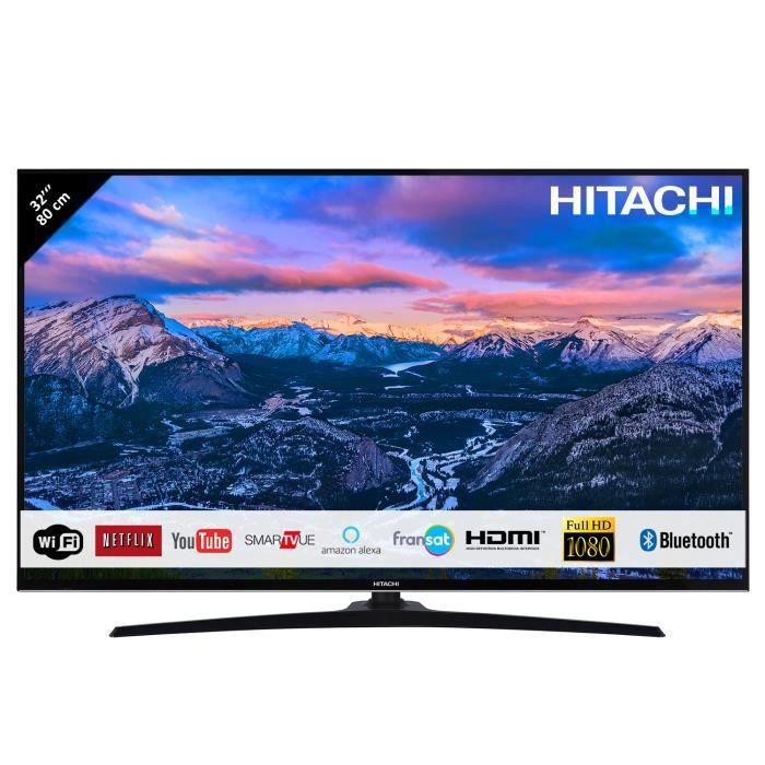 Téléviseur LED HITACHI Téléviseur LED 32''/80cm FHD - Smart TV -
