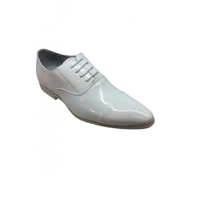 Chaussures de mariage blanches homme yFjAAcM