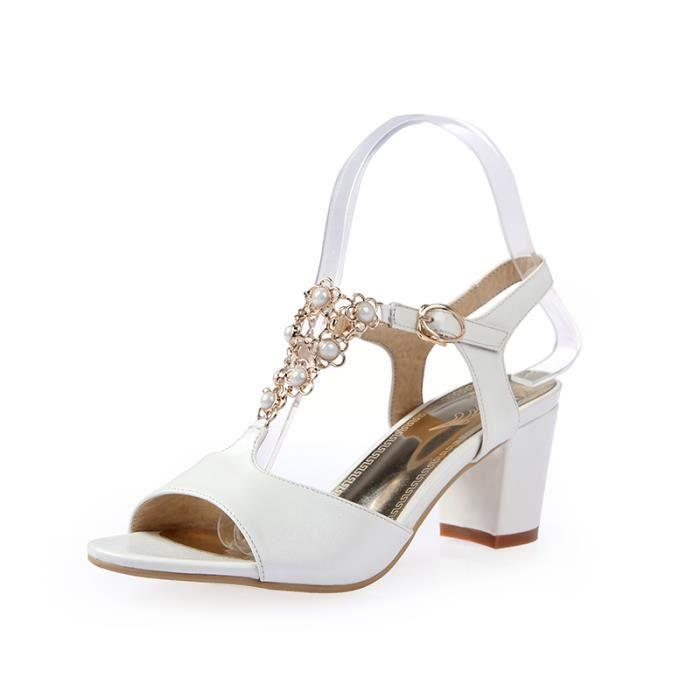 Sandales femmes Mode à bout outalons hauts SIMP... h5VcCzezVa