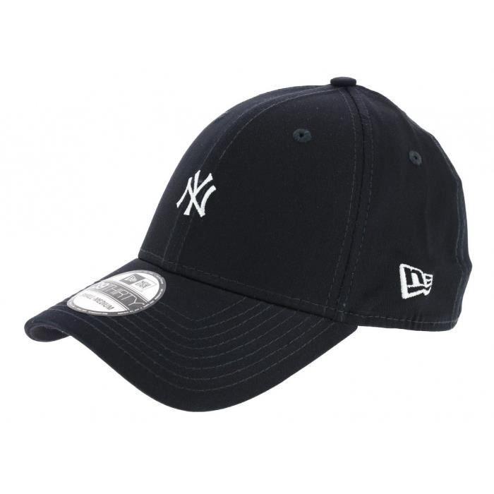 obtenir pas cher 591c0 625ef Casquette Fitted Yankees Mini Logo Coton Marine - New Era