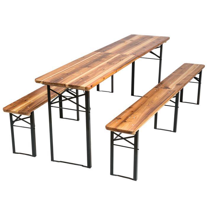 Table Pliante Avec Banc Achat Vente Pas Cher