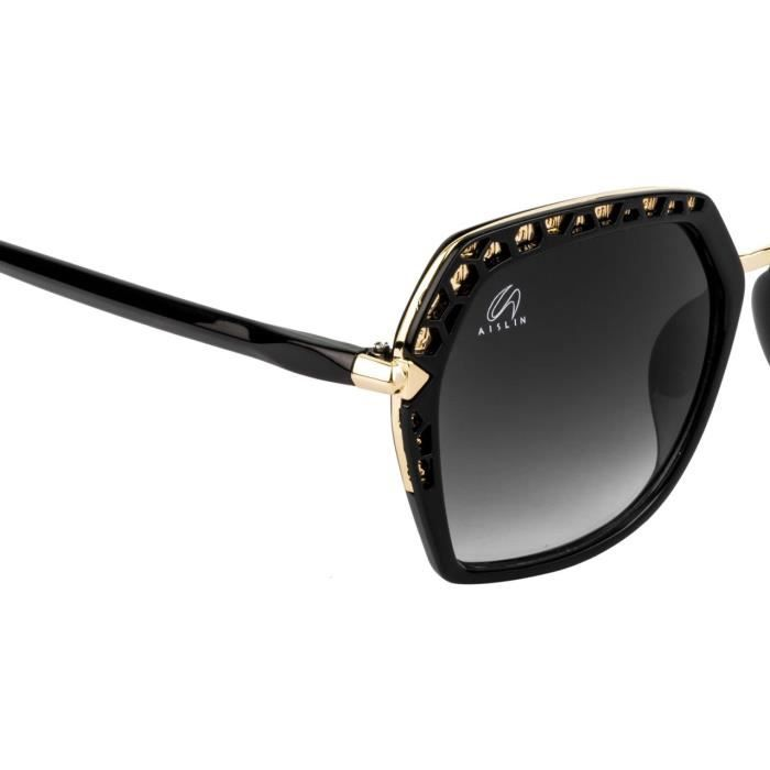 Premium Ultra Light Over-sized Sunglasses For (multiple Color Variants) (size : 55 Mm) (as-9018-80-p E11MD