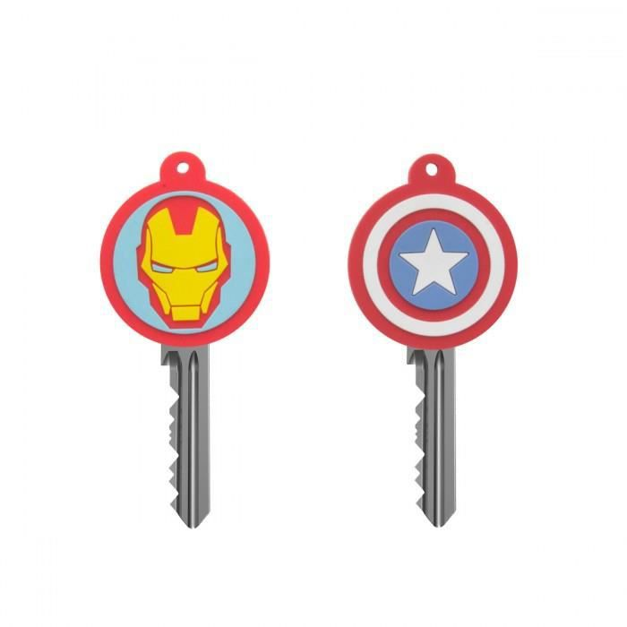 clés amp; Cache Marvel Unique Captain Man Iron America 4wAzdAqr