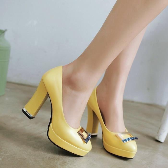 Chaussures Femme décoration personnalisée confortable solide nouvelle mode sexy douce Soirée Mariage