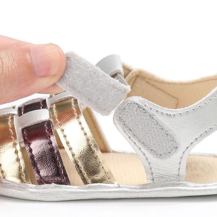 BOTTE Bébé nourrissons enfants fille douce semelle enfant nouveau-né sandales chaussures@OrHM LNgHog