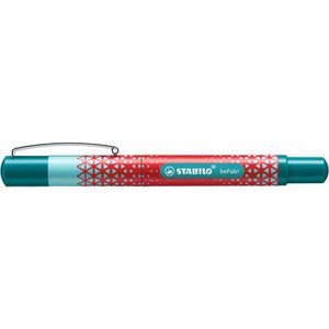 STABILO Stylo-plume beFab! - Collection Urban Sportive : décor rouge lumineux