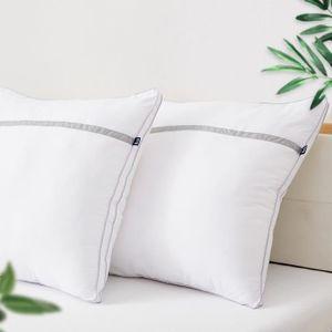 OREILLER BedStory®Lot de 2 oreillers Volumineux 60x60 cm b