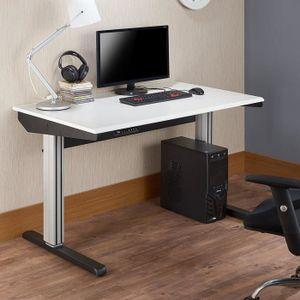 TABLE BASSE Ottmar bureau de table électronique réglable en ha