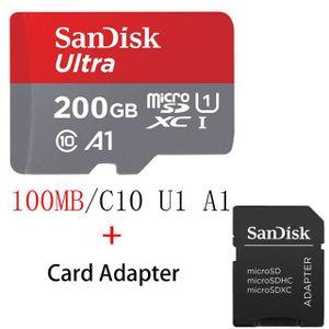 CARTE MÉMOIRE Carte Mémoire Micro SD 200 GB Sandisk  - M3321