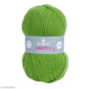 LAINE TRICOT - PELOTE Laine Knitty 4 DMC - 100 g Laine Acrylique Knitty 0b3660aae95