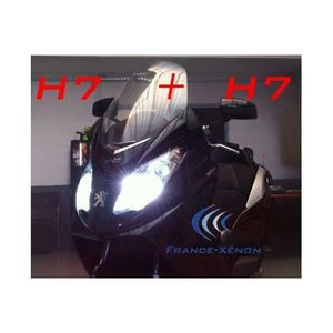 AMPOULE TABLEAU BORD Pack xénon H7 + H7 8000K - moto