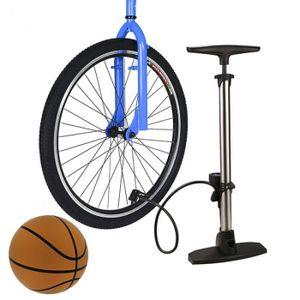POMPE À VÉLO Pompe à vélo haute pression Portable avec baromètr
