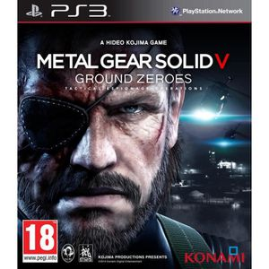 JEU PS3 METAL GEAR SOLID V : GROUND ZEROES [IMPORT ALLE…