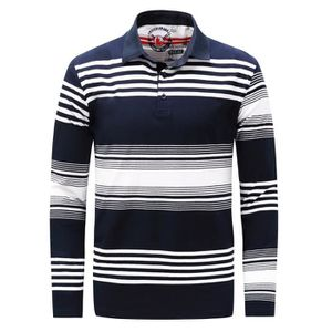 POLO Polo homme grande taille manches longues col roulé 574af2fe1cf5