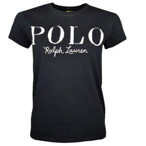 Cher Pas Polo Femme Vente Lauren Noir Ralph Achat hQrCdtxs