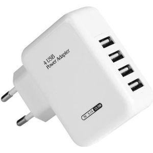 CHARGEUR TÉLÉPHONE Chargeur USB 4 ports Pour iphone ipad téléphone ta