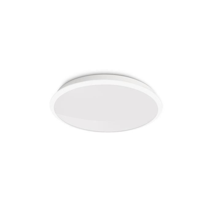 PHILIPS Plafonnier LED Denim 8W blanc