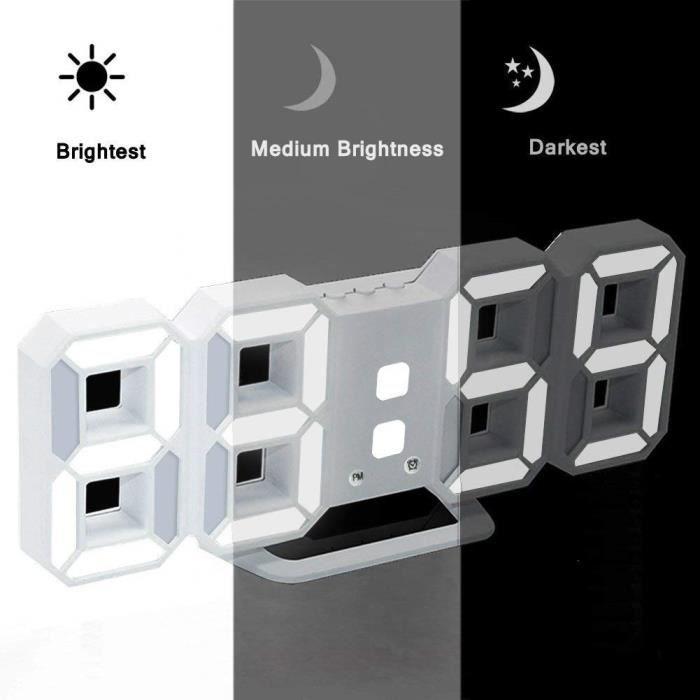 Horloge Digitale Design