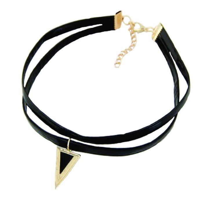 Womens Valentine Gifts Special Navratri Gifts Special Vintage 90s Geometric Choker Necklace Simply DSMQT