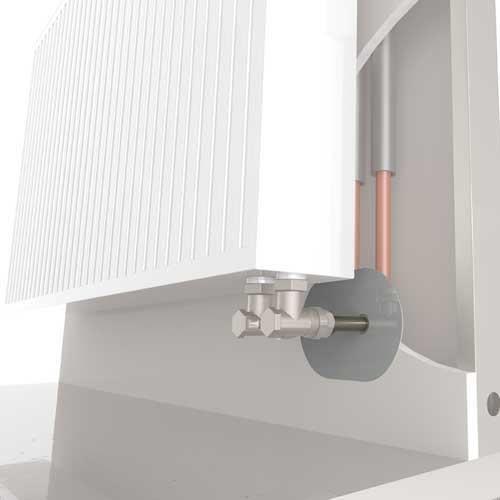 kit de raccordement double pour radiateur 6 connexions per 16 achat vente manchon raccord. Black Bedroom Furniture Sets. Home Design Ideas