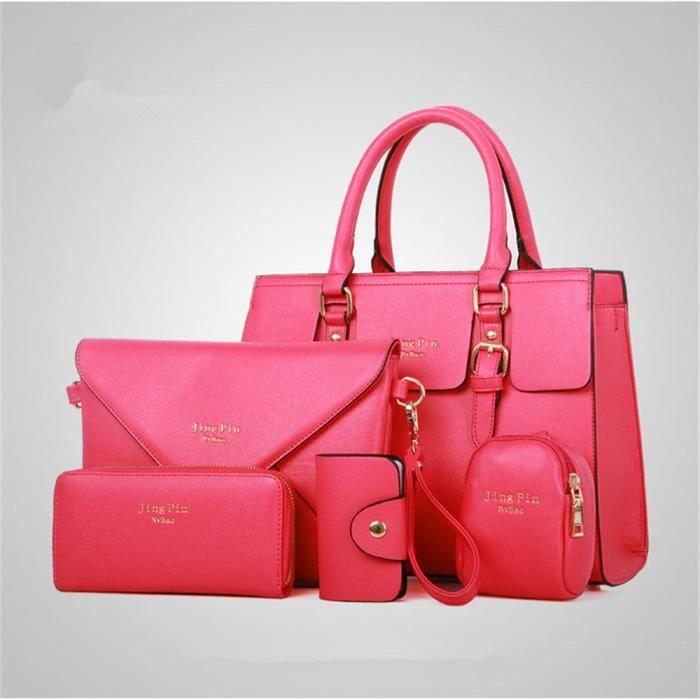De supérieure Luxe rouge En De sac Marque femme à sac femme Cuir main qualité 8wOUfqxO