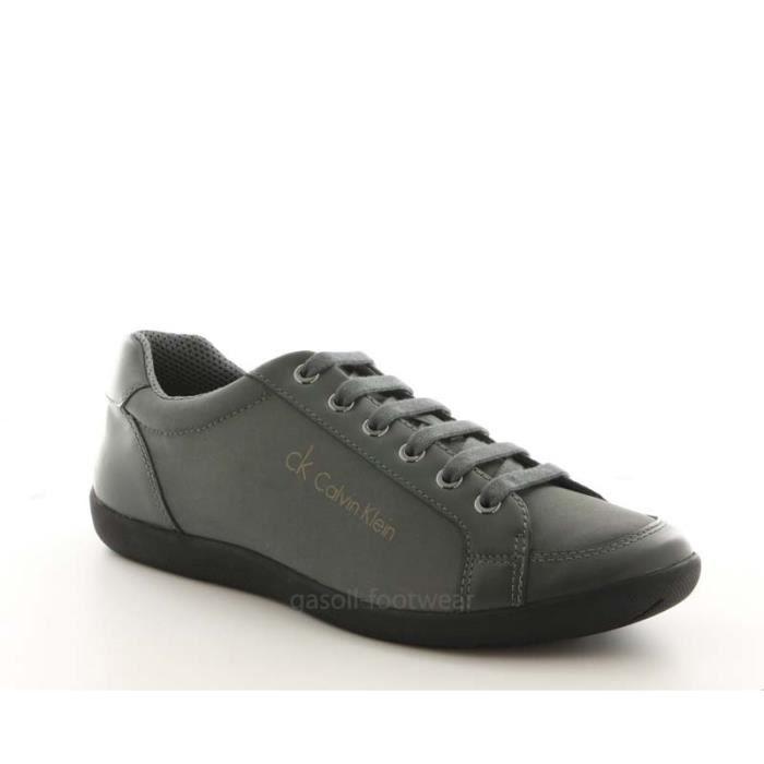 Chaussure Calvin Klein Paco grise. YKQp0JOdl3