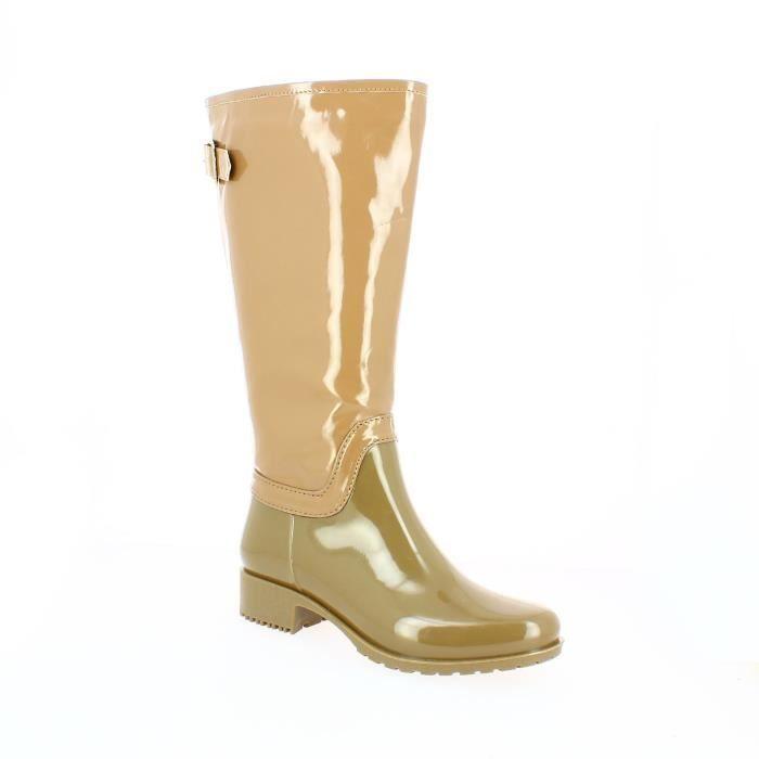 belles chaussures mode de premier ordre grande remise Bottes Plastique femme