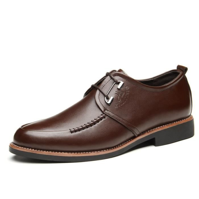 Chaussure Homme Mode Casual Chaussures en cuir ...