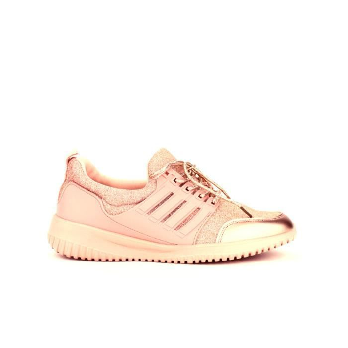 Chaussures Cendriyon basket Rose Baskets Femme Y7xqPH
