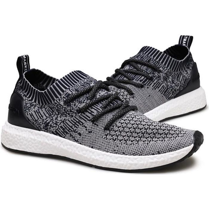 Baskets Homme Chaussures de Course Masculines Respirante Grande Taille Chaussures NtywJtw