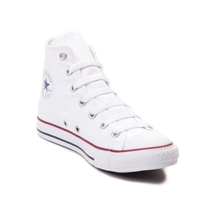 4c6e58c85f551 Converse All Star Salut Top Chaussures Blanc Optique M7650 OSI2S Taille-37  1-2
