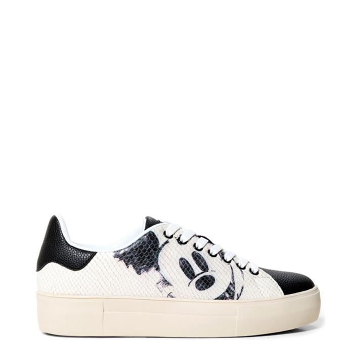 BASKET Chaussures Mickey Star blanches