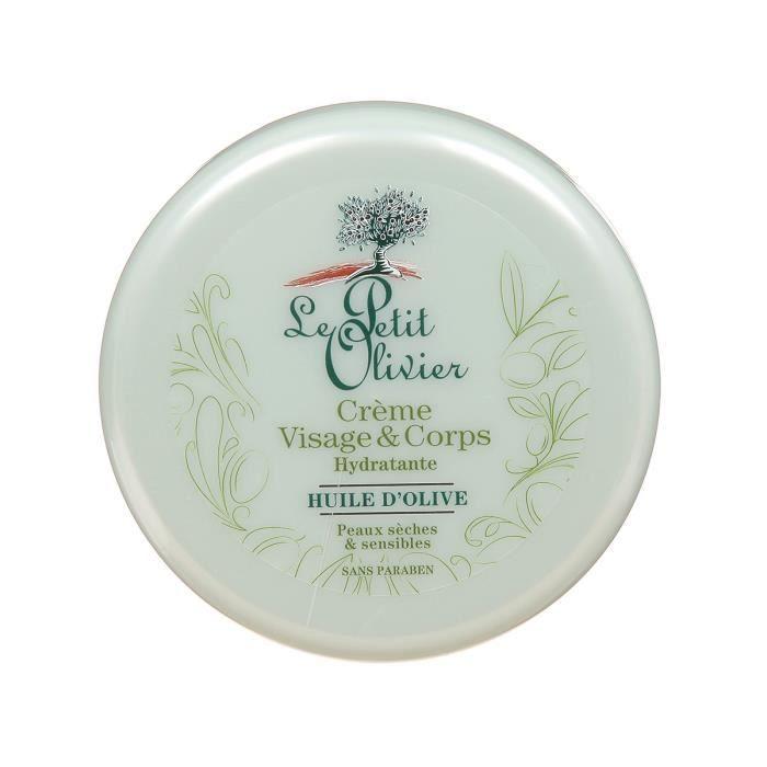 LE PETIT OLIVIER Crème Visage et Corps Hydratante Huile d Olive - 125ml b4aec052657
