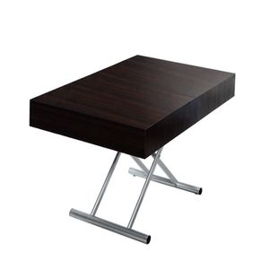 Table relevable extensible achat vente table relevable extensible pas cher cdiscount - Table basse relevable cassidy ...