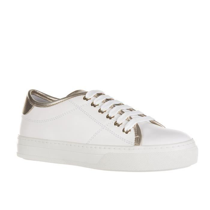 Chaussures baskets sneakers femme en cuir Tod's