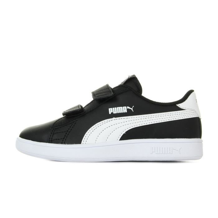 Baskets Puma Smash V2 L Jr Ps Black