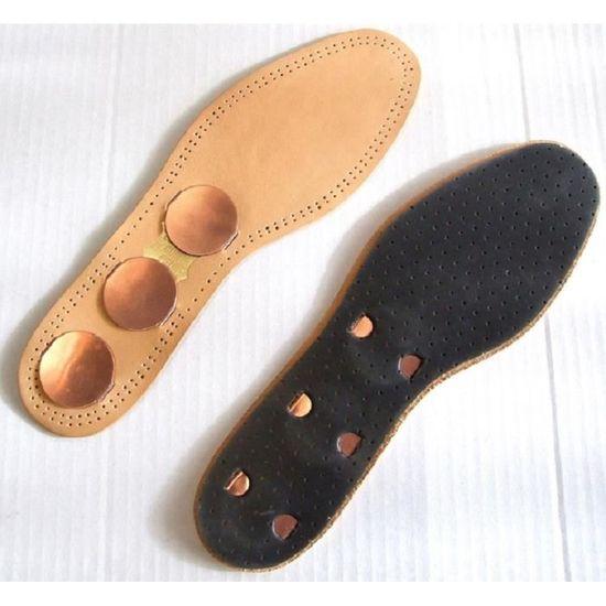 a35192faf6316 Semelles cuir et cuivre - pointure 36 Cuir et cuivre - Achat   Vente semelle  de chaussure - Cdiscount