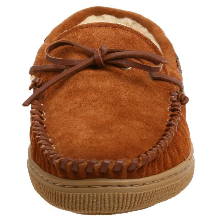Suede Moccasin Slipper TOJHV Taille-43 ozXh5nlh