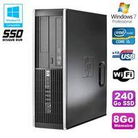 UNITÉ CENTRALE  PC HP Elite 8300 SFF Core I5 3470 3.2GHz 8Go 240Go