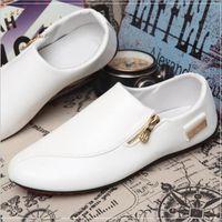 Moccasins hommes Respirant Classique Cuir chaussure Haut qualité De Marque De Luxe Moccasin En Cuir Grande Taille