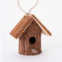 cabane a oiseaux nichoir en bois forme rondin avec With maison en rondin prix 8 cabane 224 oiseaux nichoir en bois forme rondin avec