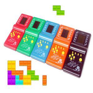 JEU D'APPRENTISSAGE Tetris Jeu Jeux Poche Machine de Jeu LCD Jouet Édu