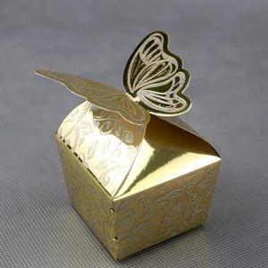 BOÎTE À DRAGÉES 50 boîtes à dragée orientaux mariage papillon BTM1