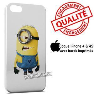 COQUE - BUMPER Coque iPhone 4 & 4S Minion 7