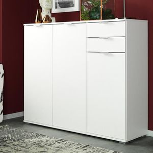 COMMODE DE CHAMBRE Commode 107 x 101 x 35cm Type 160 blanc