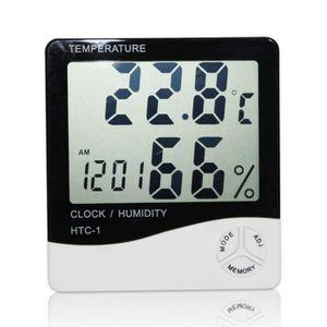 MESURE THERMIQUE Digital LCD Thermomètre Hygromètre Température Hum