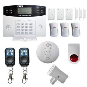 KIT ALARME 15pcs Pack alarme GSM,KIT ALARME maison sans fil t