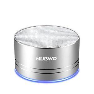 ENCEINTE NOMADE Mini haut-parleur portable Bluetooth   Argenté