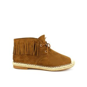 BOTTINE Bottines Caramel Chaussures Femme, Cendriyon